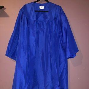 Jostens graduation cap and gown